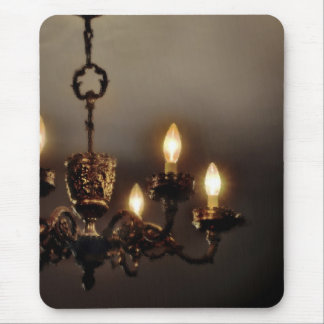 Gothic Vintage Chandelier Mouse Pads