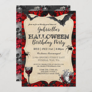 Download Halloween Dinner Party Invitations Pics