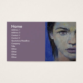 Gothic Violet Business Card