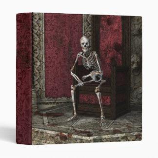 Gothic Waiting Skeleton Binder