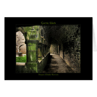 Gothic Walk Greeting Cards