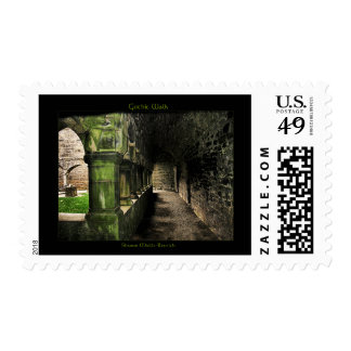 Gothic Walk Postage Stamps