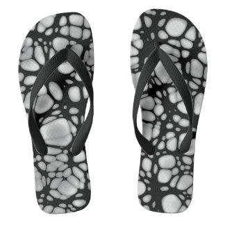 Gothic Web Flip Flops