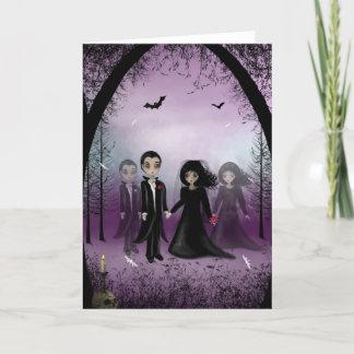 Gothic Wedding Greeting Card