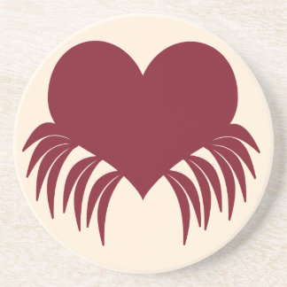 Gothic weeping heart coaster