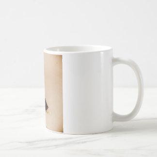 Gothic White Flower Coffee Mug