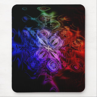 Gothic Windflower Mouse Pad