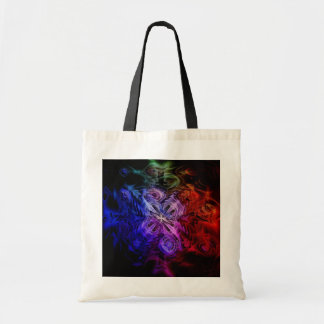 Gothic Windflower Tote Bag