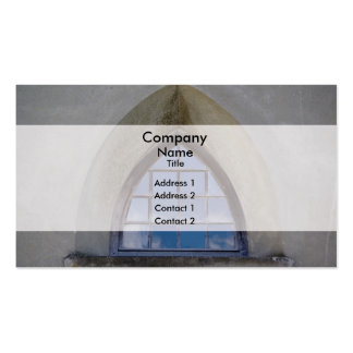 Gothic window Double-Sided standard business cards (Pack of 100)