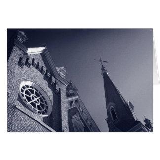 Gothic Windows Card