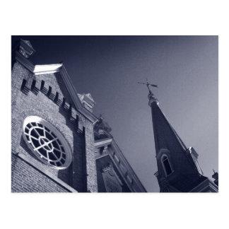 Gothic Windows Postcard
