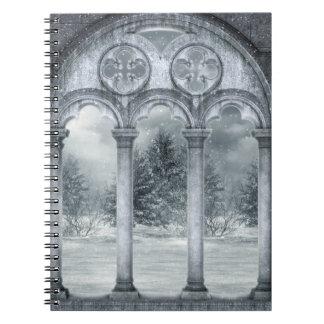 Gothic Winter Vault Notebook
