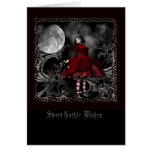 Gothic Wishes Greeting Cards