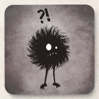 Gothic Wondering Evil Bug Character Drink Coaster