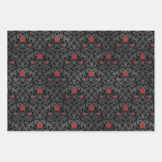 Gothic Wrapping Paper Collection