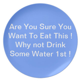 Gothicchicz  A Diet Reminder Plate
