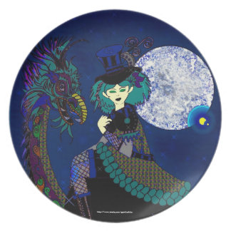 Gothicchicz Art Plate