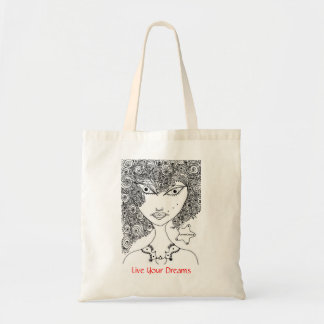 GothicChicz Budget Tote Budget Tote Bag