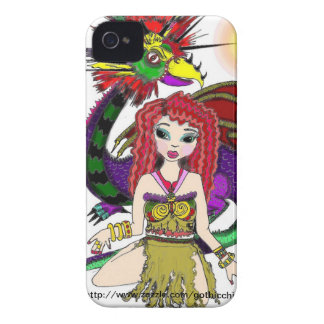 Gothicchicz by Luz M Garcia Case-Mate Blackberry iPhone 4 Cases