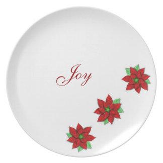 Gothicchicz Christmas Joy Plate