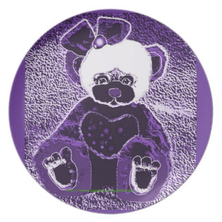 Gothicchicz cute bear Plate