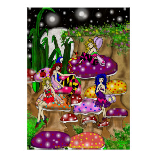 Gothicchicz FAIRIES Poster