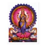 GothicChicz Lakshmi Postcard