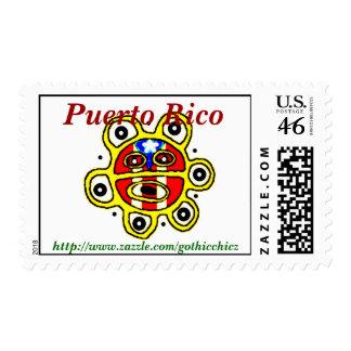 GothicChicz Puerto Rico Postage