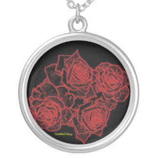 GothicChicz Roses Necklace