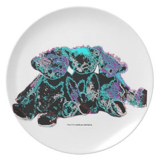 Gothicchicz three Bears Plate