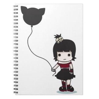 Gothilda Spiral Note Book