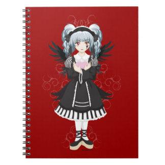 Gothloli Spiral Notebook
