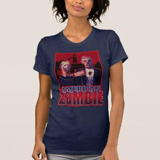 Gótico americano del zombi camiseta