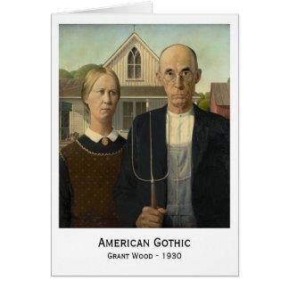 Gótico americano, Grant Wood Tarjeta De Felicitación