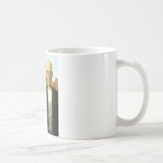 Gótico americano taza de café