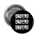 Gótico Batcave Deathrock de los Undead de los Unde Pin Redondo 5 Cm