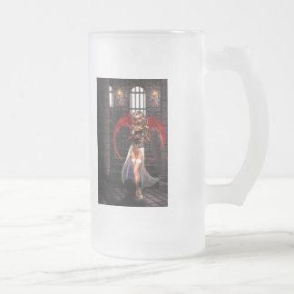 Gótico del vampiro del ángel de la sangre taza de café