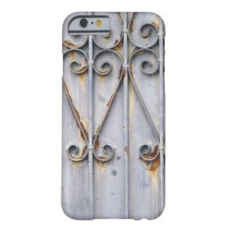 Gótico elegante rústico del metal del modelo del funda para iPhone 6 barely there