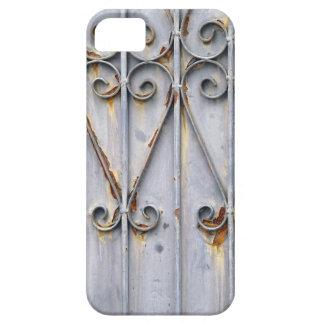 Gótico elegante rústico del metal del modelo del s iPhone 5 Case-Mate cárcasas