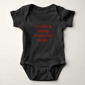 Gótico introspectivo el | de la enredadera el | body para bebé