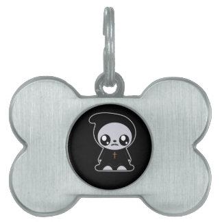 Gótico Kawaii Placas Mascota