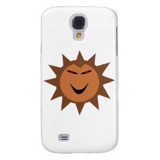 Gótico malvado Halloween 3G de Kawaii del erizo Funda Para Samsung Galaxy S4