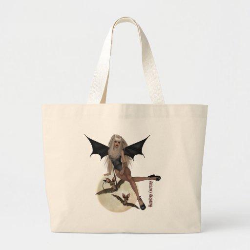 * gótico - moda del vampiro bolsa tela grande