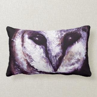 Gótico oscuro púrpura del negro del noctámbulo de  cojines