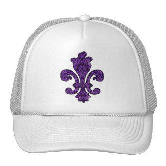 Gótico violeta crepuscular gorra