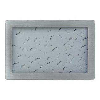 Gotitas de agua hebillas cinturón rectangulares