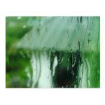 Gotitas de agua tarjeta postal