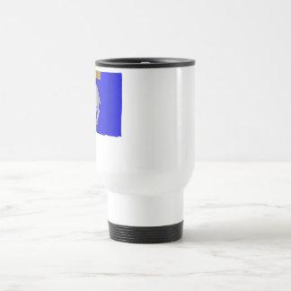 Gotlands län waving flag coffee mug