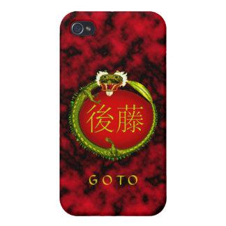 Goto Monogram Dragon Case For iPhone 4