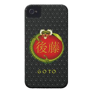 Goto Monogram Dragon Case-Mate iPhone 4 Case